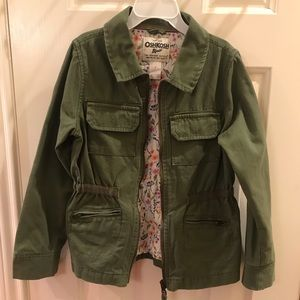 Oshkosh B'Gosh Girls Twill Cargo Jacket